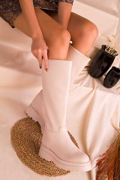 SOHO Kadın Bej Çizme 16515