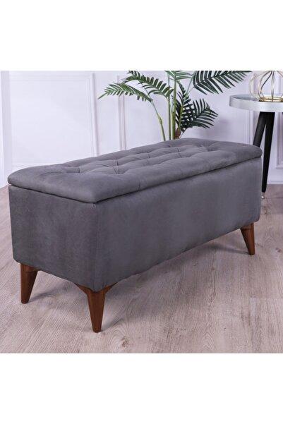 HOMİNG Vinde Modern Sandıklı Puf Bench Seh-4540