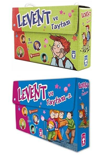 Timaş Yayınları Levent Ve Tayfasi 1 Ve 2 Set 2 Kutu 10 Kitap