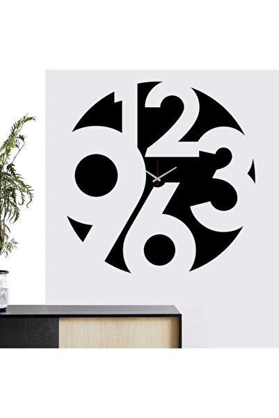 Özgül Shopbyd Dekoratif Sticker Duvar Saati 43x43cm St02
