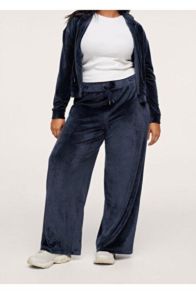 MANGO Woman Kadife Jogger Pantolon