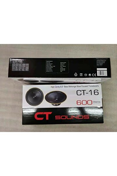 Boss Ct Sounds 16cm Mıdrange 90 Watt Rms 600 Watt Max Ct-16