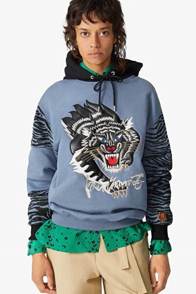 Kenzo Çita Logolu Kapüşonlu Sweatshirt