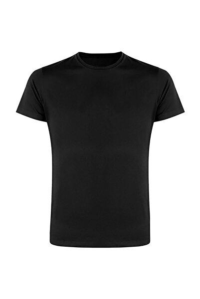 Canerkekspor Siyah Sıfır Yaka T-Shirt (cs-syt-01)