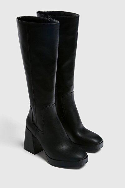 Pull & Bear Uzun Topuklu Çizme