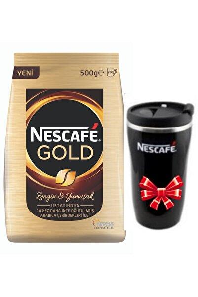 Nestle Nescafe Gold 500 Gr + Termomug
