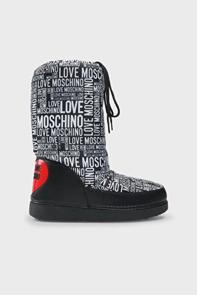 Love Moschino Logolu Kar Botu Kadın Kar Botu Ja24012g1dısb00a