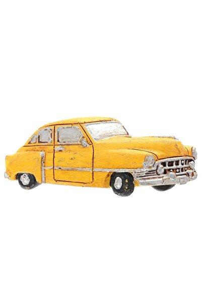 LABALABA Chevrolet Belair 1952 Sarı Renk Magnet & Buzdolabı Süsü