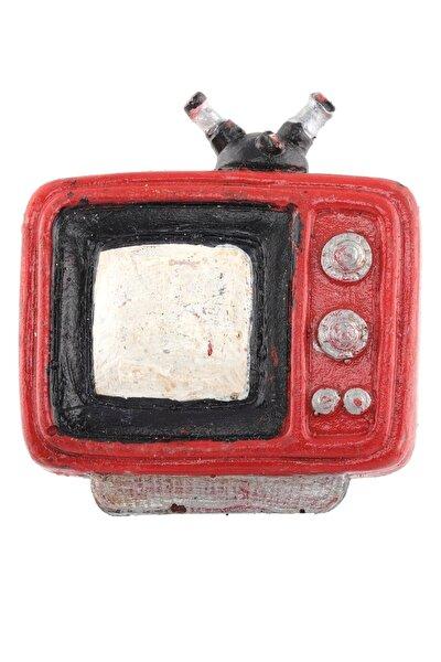 LABALABA Televizyon Kırmızı Renk Magnet & Buzdolabı Süsü