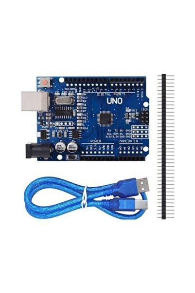 Arduino Uno R3 Ch340 + Usb Kabl Uyumlu