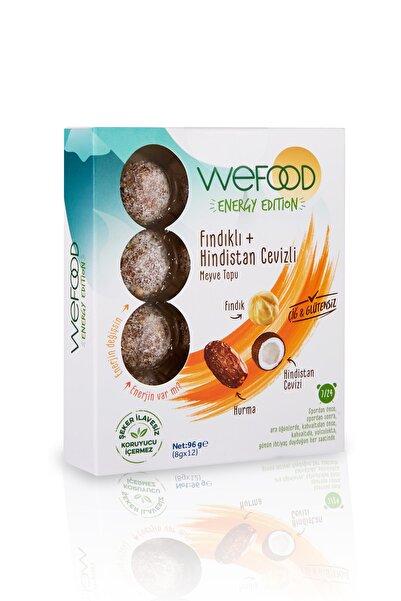 Wefood Energy Edition - Fındıklı & Hindistan Cevizli Meyve Topu 96 gr
