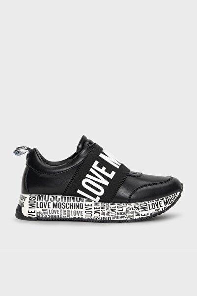 Love Moschino Logolu Deri Ayakkabı Bayan Ayakkabı Ja15244g1dıe0000