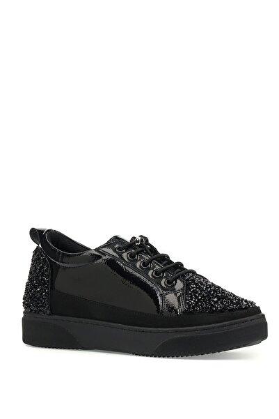 İnci Luhans.r.z 1pr Siyah Kadın Havuz Taban Sneaker