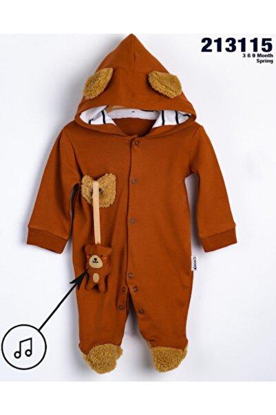 Necix's Erkek Bebek Ayıcıklı Oyuncaklı Tulum Takım