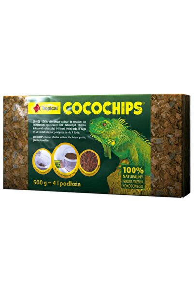 Tropical Cocochips Coconut Husk 500gr