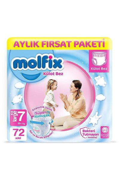 Molfix Külot Bez 7 Beden xx Large Aylık Fırsat Paketi 72 adet