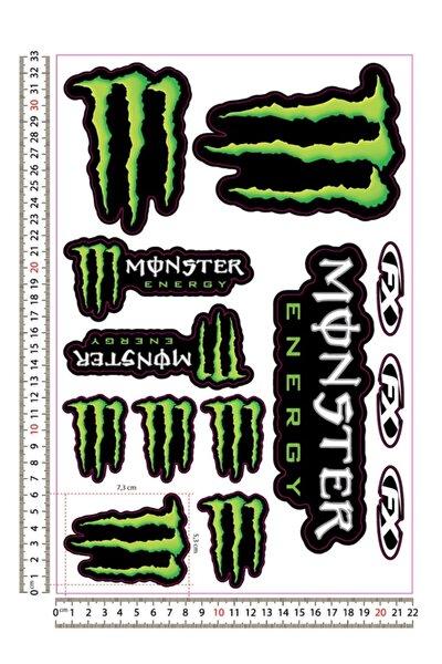 3M Monster Sticker Seti