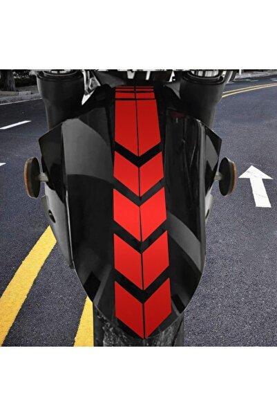 3M Motosiklet Çamurluk Sticker Kırmızı
