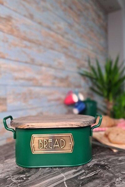 The Mia Ekmek Saklama Kabı- Koyu Yeşil