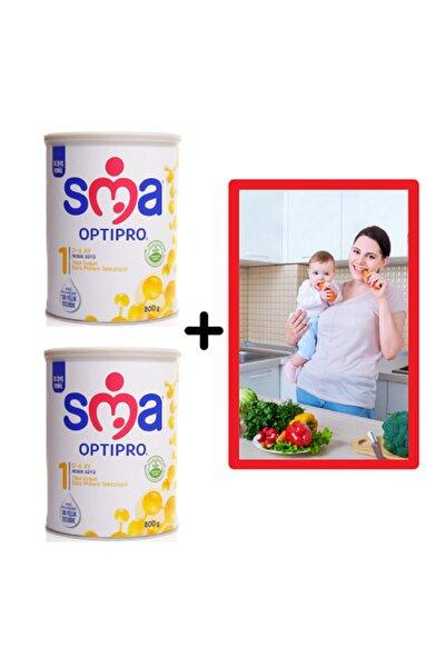 SMA 1 Optipro 800g 0-6ay Bebek Sütü 2adet+Diyetisyenden Anne Sütü Artırıcı Ve Ek Besine Geçiş Bes Prg