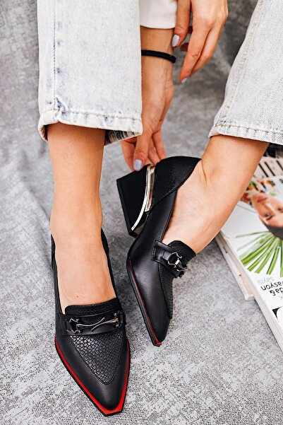Limoya Kadın Siyah Ayakkabı