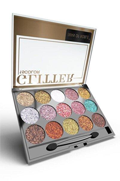 IMAN OF NOBLE Glitter 15'li Simli Far Paleti 02
