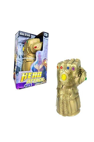 OKTOYS Avengers Thanos Oyuncak Işıklı Sesli Eldiveni - Sonsuzluk Eldiven