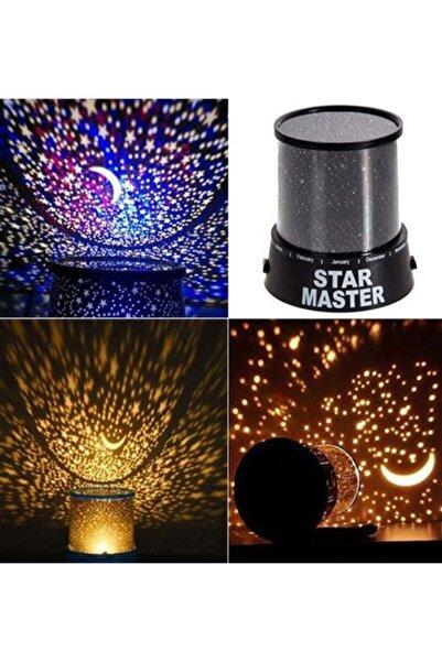 indirimsevinci Renkli Yıldızlı Gökyüzü Projeksiyon Gece Lambası Star Master