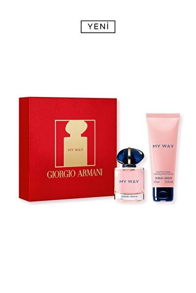 Giorgio Armani My Way Edp Kadin Parfüm Seti 30 ml 3614273613491