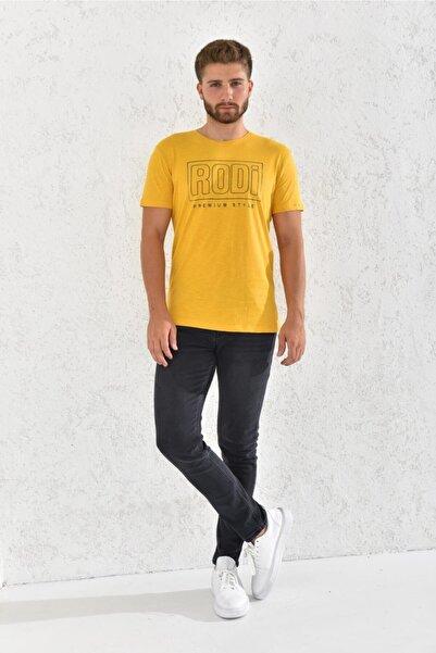 Rodi Erkek Flamlı Baskılı T-shirt Rd21ye270003