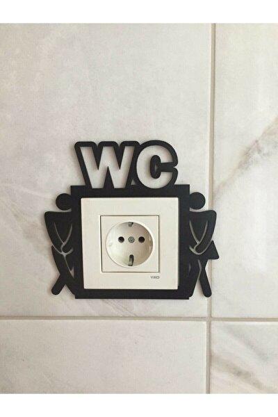 evdeucuz Wc Tuvalet Dekoratif Priz Çerçevesi