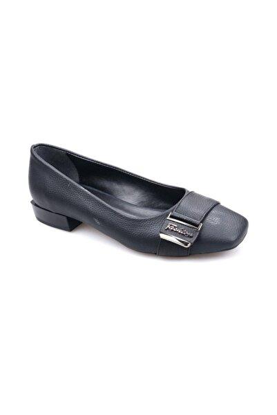 Pandora Dm3021 Kısa Topuklu Babet Ayakkabı