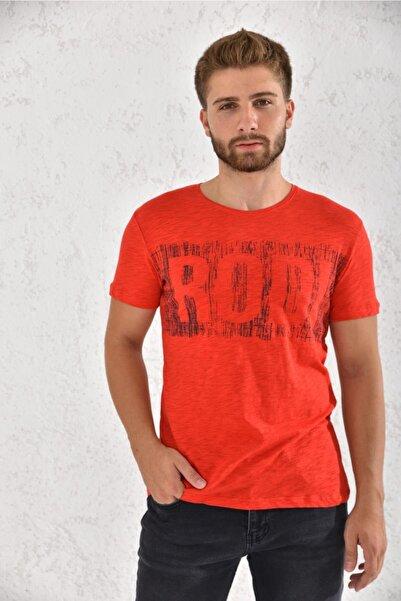 Rodi Erkek Flamlı Baskılı T-shirt Rd21ye270002