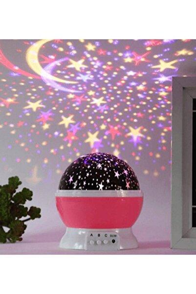 Eflatun Shops Star Master Yıldız Yansıtmalı Gece Lambası Projeksiyon Çocuk Odası Lamba Starmaster