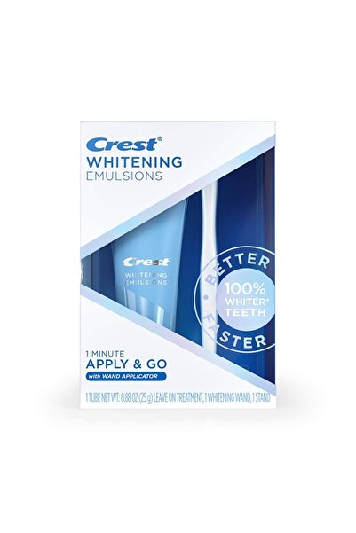 CREST Whitening Emulsions With Wand Applicator (25 Gr)