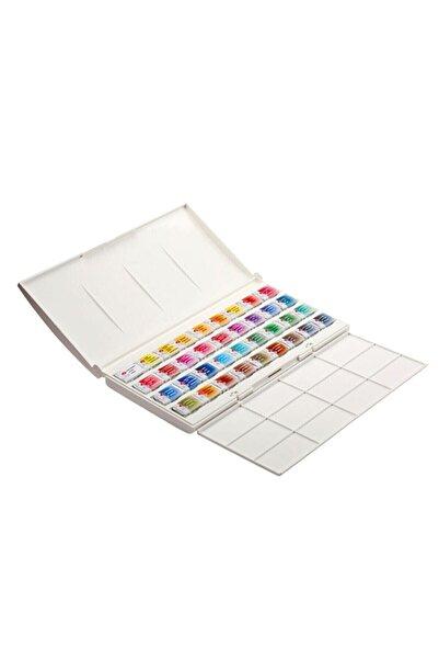 ST. PETERSBURG Whıte Nıghts 36 Renk Watercolor Set Plastik Kutu