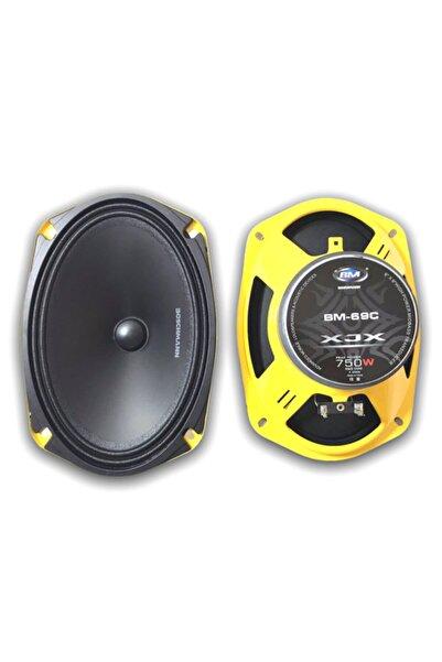 bm audio Boschmann Profesyonel Midrange Oval Hoparlör ( 2 Adet )
