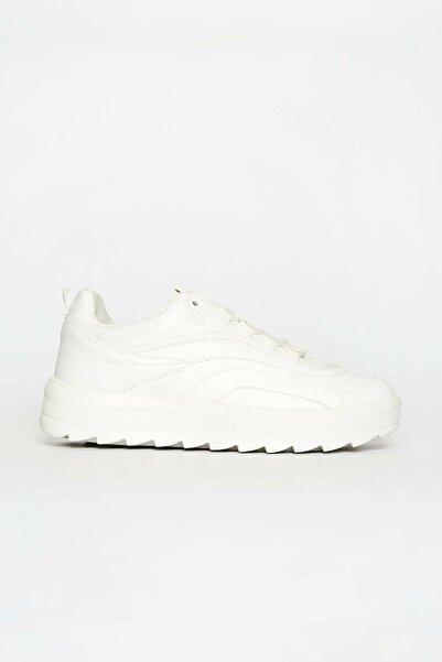 LETOON Kadın Beyaz Günlük Ayakkabı