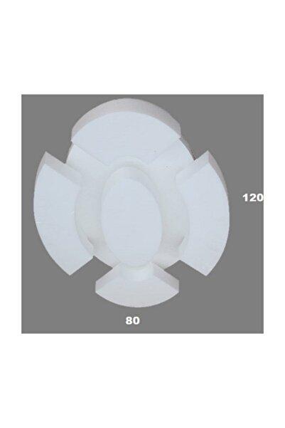 PROPİYER Dekor Göbek Kartonpiyer Stropiyer Led & Spot Uyumlu Tavan Göbeği - Oval 120 Cm Gb-120