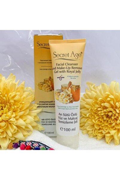 Secret Age Kozmetik Arı Sütü Özlü Yüz Ve Makyaj Temizleme Jeli