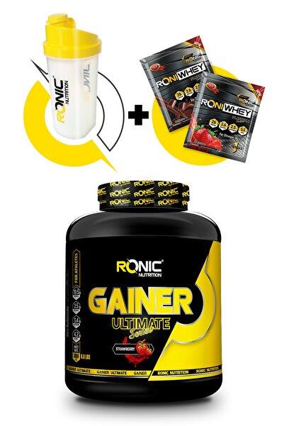 Ronic Nutrition Gainer Ultimate 3000 G Kilo Almaya Yardımcı Karbonhidrat Tozu (çilek Aromalı)