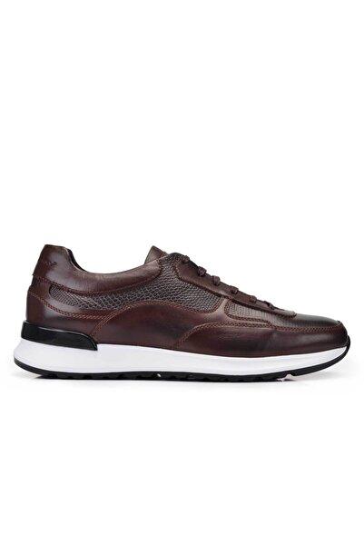 Nevzat Onay Erkek Kahverengi Hakiki Deri Sneaker Ayakkabı -11351-