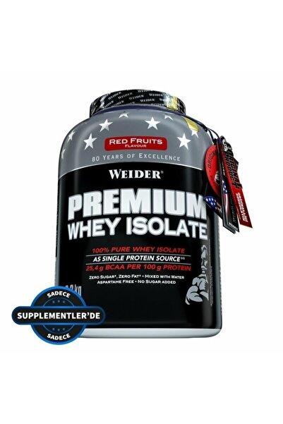 Weider Premium Whey Isolate 2300 Gr - Kırmızı Meyveler