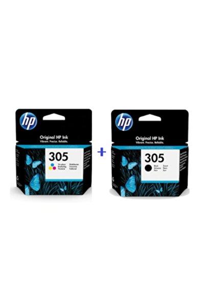 HP 305 Renkli Ve Siyah 2'li Set