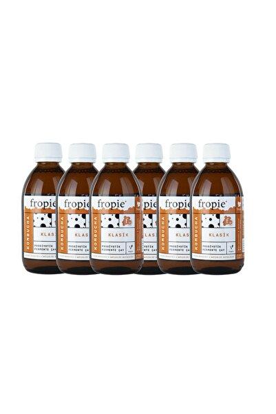 FROPİE Kombucha Klasik Probiyotik Fermente Çay (250 ml X 6 Adet)