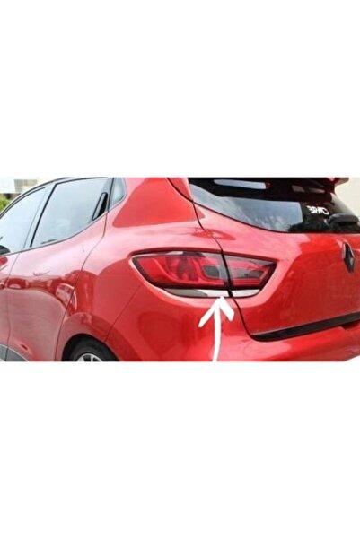 OTOTUNING53 Renault Clio 4 Krom Stop Alt Çıtası 4 Parça 2012 Sonrası