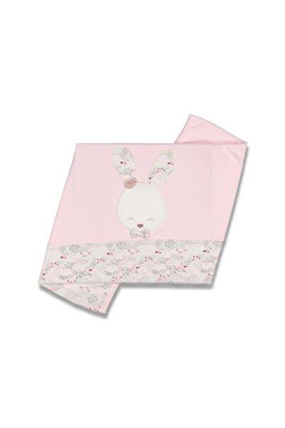 Gaye Bebe Pembe Tavşanlı Bebek  Battaniye