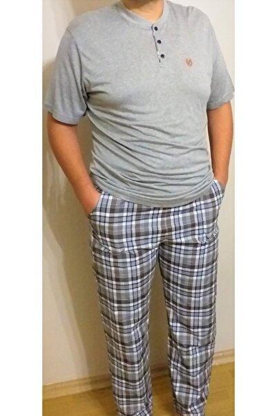 Marilyn Pijama Erkek Gri Pijama Takımı
