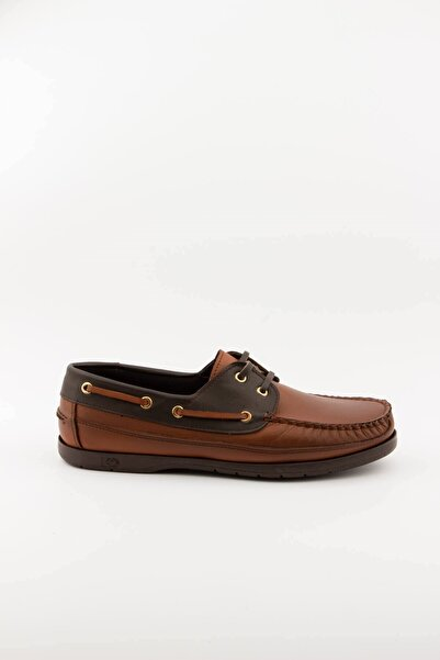 Akınal Bella Erkek Kahverengi Hakiki Deri Loafer Ayakkabı