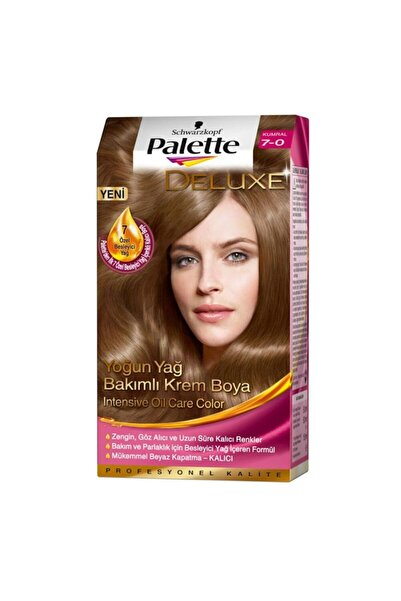 Palette Saç Boyası 7-0 Kumral